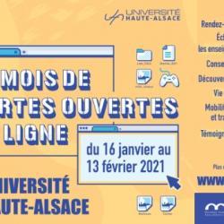 Myriam Ecormier - Portes Ouvertes Virtuelles de l'UHA 15/01/21